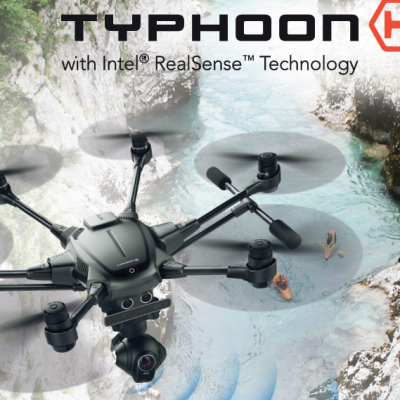 Typhon H Yuneec Disponibile